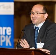 WPK-Vorsitzender Martin Schneider beim WPK-Jubiläum auf der Wissenswerte.