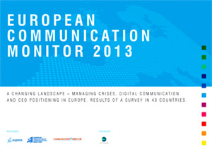 European Communication Monitor 2013