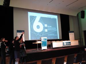 Voller Erwartungen: Organisatoren am Beginn des 6. Forums Wissenschaftskommunikation. (Foto:Korbmann)