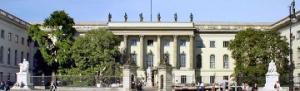 Repräsentativ in der Prachtmeile - Die Humboldt-Universität in Berlin.