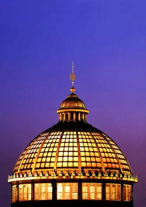 Debakel der Wissenschaftskommunikation am Beispiel Nano - die Kuppel der Kopenhagener Glyptothek (Foto: O. Haupt)