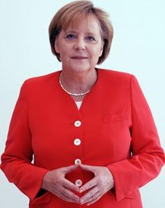 """Die """"Merkel-Raute"""" mit Ursprüngen im Mittelalter – Ausgangspunkt für  ein Forschungsprojekt über nonverbale Herrschaftszeichen. (Foto: A.Linnartz/CC)"""
