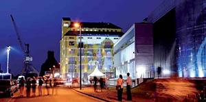Wissenschaftshafen Magdeburg: Ambiente für Institute und Firmen.