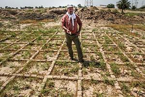 Archäologie zur Gegenwartserklärung: Reiseguide Dr. Christian Piller.