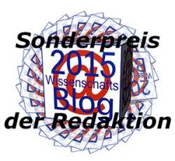 """Der Sonderpreis bei der Wahl der """"Wissenschaftsblogs des Jahres 2015"""" geht an einen beachtenswerten Blog: Quark und so"""