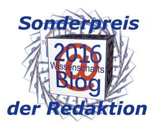 Sonderpreis Wissenschaftsblog der Wissenschaftskommunikation